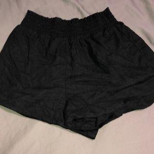 Forever 21 linen shorts